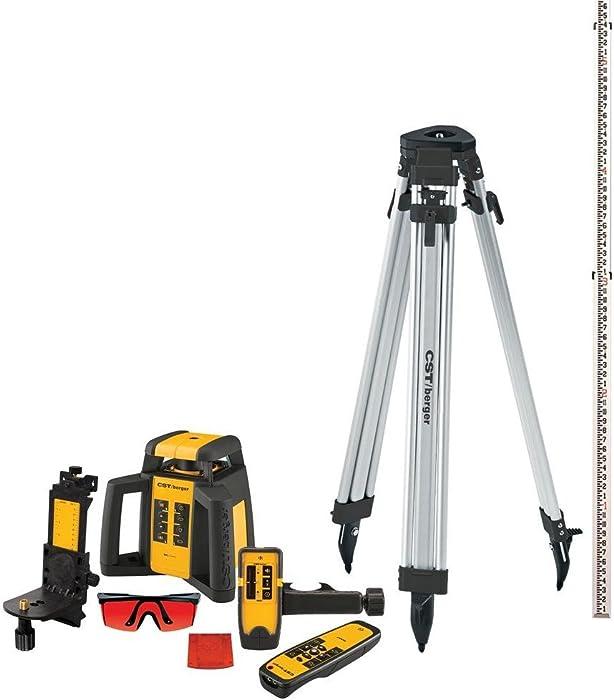 Best Valued Interior/Exterior Rotary Laser Kit: CST/berger RL25HVCK