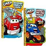 chuck toy truck - Tonka Chuck Board Book Set For Kids Toddlers (Set of 2 Tonka Board Books)