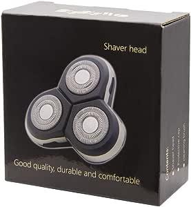 BigbigWo Reemplazo cabezales de afeitado para Philips S7370 S7720 Series 7000 afeitadora eléctrica + Cepillo de limpieza: Amazon.es: Salud y cuidado personal