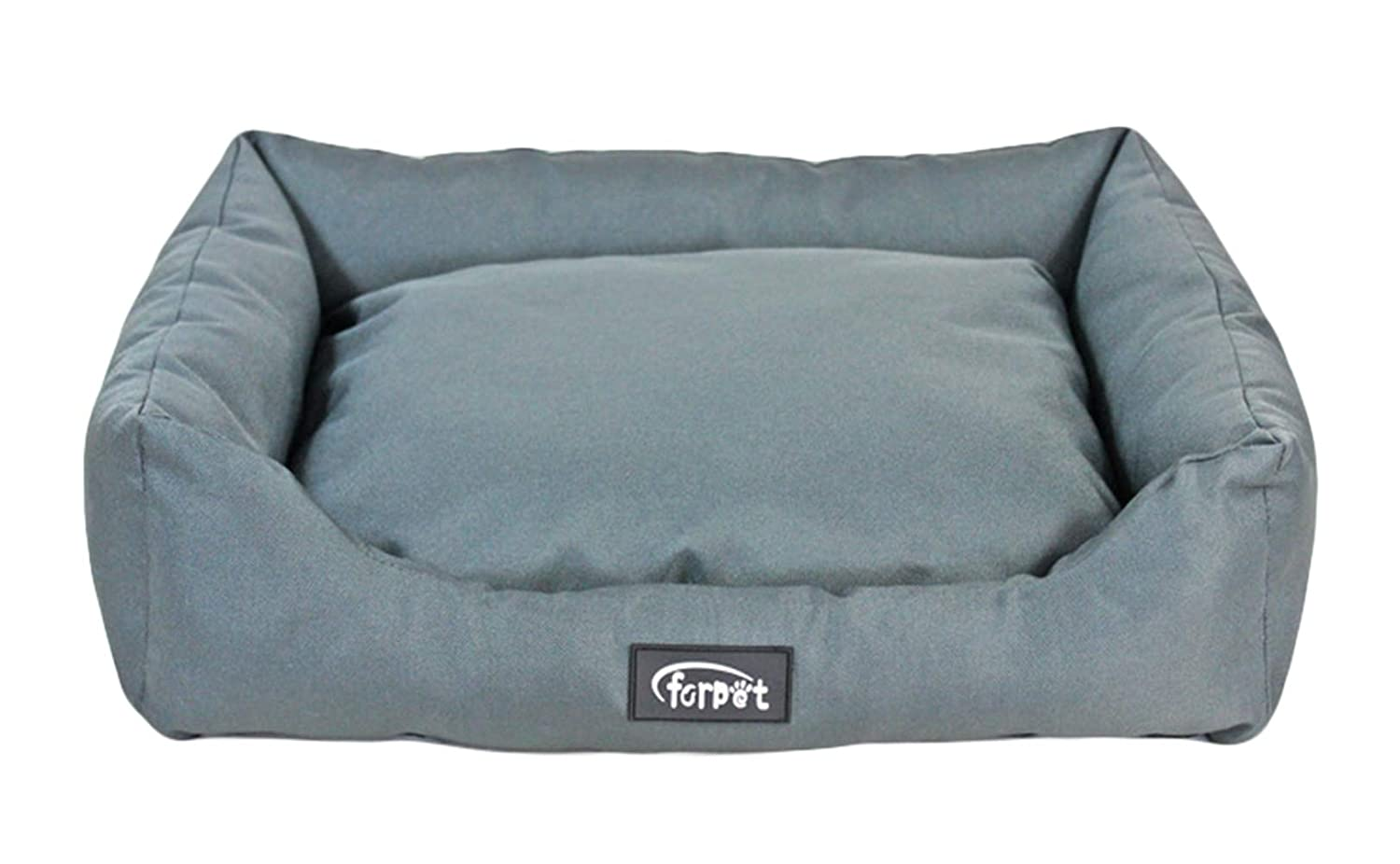 Light bluee 20''X16''X6'' Light bluee 20''X16''X6'' ONCEFIRST Dog Bed Cat Pet Bed Small Medium Pet Light bluee 20''X16''X6''