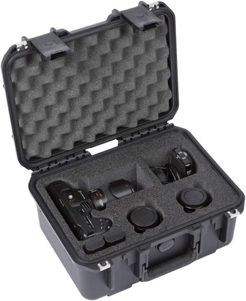 SKB iSeries 3i-1309 Military-Grade Waterproof Hard Case for BlackMagic Design Pocket Cinema Camera 4K & Accessories