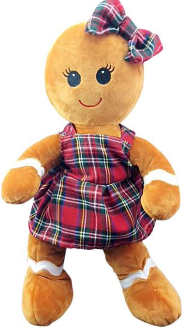 Stuffems Toy Shop Suave Relleno de Pan de Jengibre Chica de 16 ...