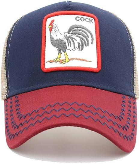 WDBUN Gorra de Beisbol Nuevo Bordado de Animales Gorras de béisbol ...