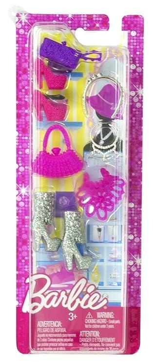 Amazon.com: Mattel Barbie zapatos surtidos botas, tacones ...