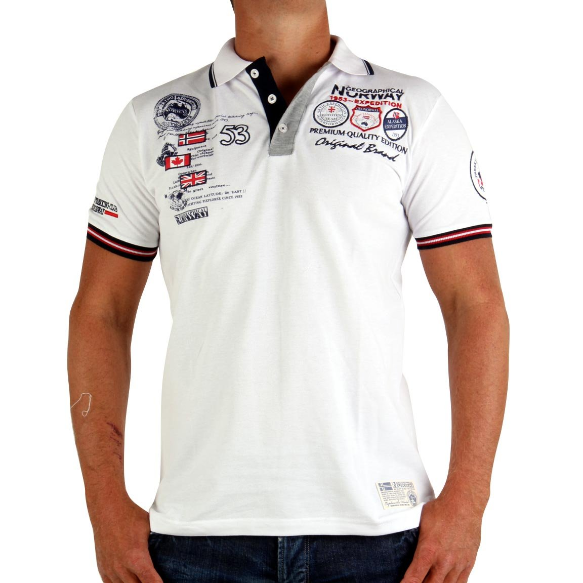 Geographical Norway Hombre Diseñador Polo Shirt Camisetas - KOBY ...