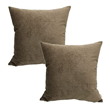 Amazon Com Mocofo Velvet Pillow Cover 20x20 Pillow Covers Pack Of 2