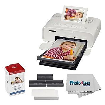 Canon Impresora de Fotos Selphy CP1300 Compacto (Blanco) + ...