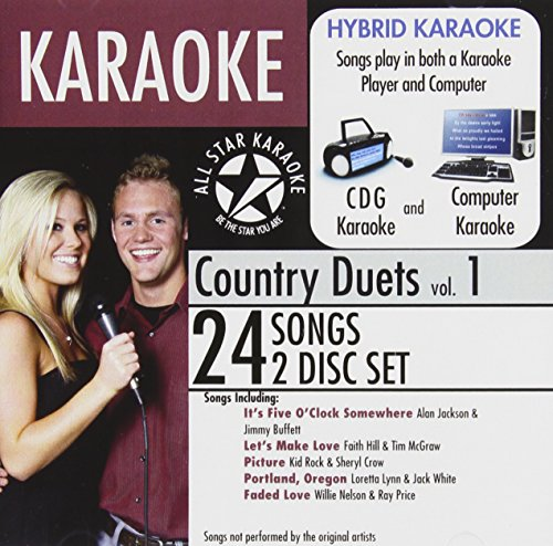 All Star Karaoke Country Duets Vol. 1 (ASK-87) ()