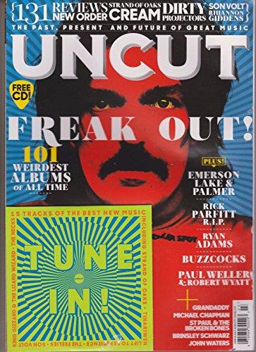 UNCUT UK MAGAZINE MARCH 2017+ FREE CD, FREAK OUT 101 WEIRDEST - Flat International Rates Usps