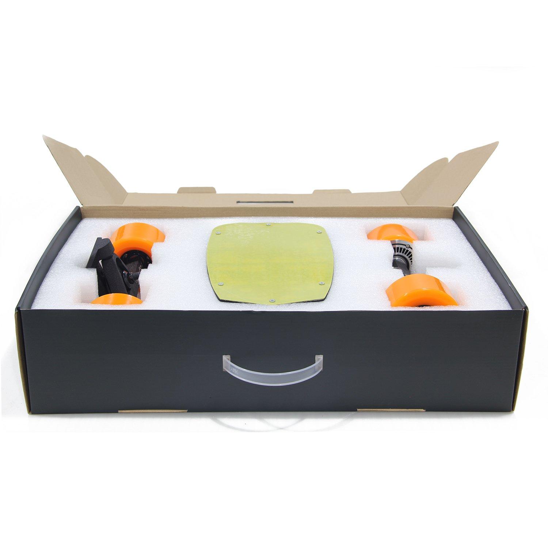 Maxfind DIY Electric Skateboard Drive Kits with Single Hub Motor Four Wheels LG 2.2AH Battery for All Skateboard Longboard