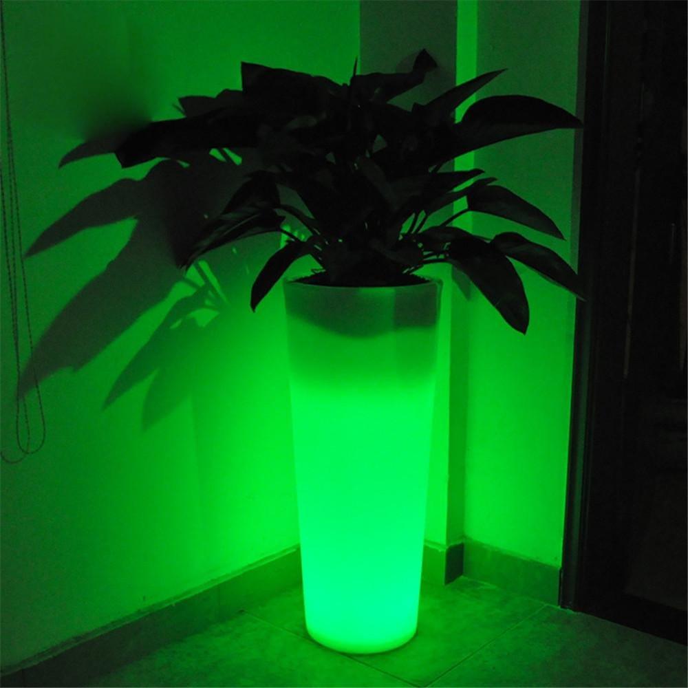 Kesierte LED Vase Licht Stimmungslicht, wiederaufladbare LED Blitz Licht Farbe ändern Mood Ball geformt für Outdoor / Indoor Dekoration Home / Zimmer / Bar / Party Dekor Lampe D48 * H96CM