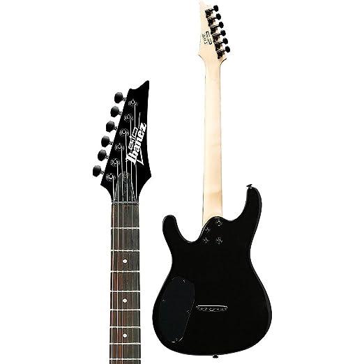 Ibanez gs221 Gio S Series Guitarra eléctrica plano de color negro: Amazon.es: Instrumentos musicales
