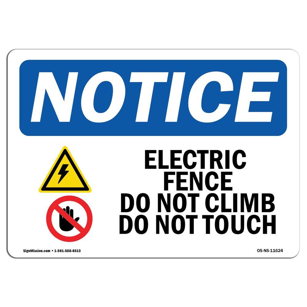 OSHA通知サイン  Heavy Duty Signまたはラベル 14