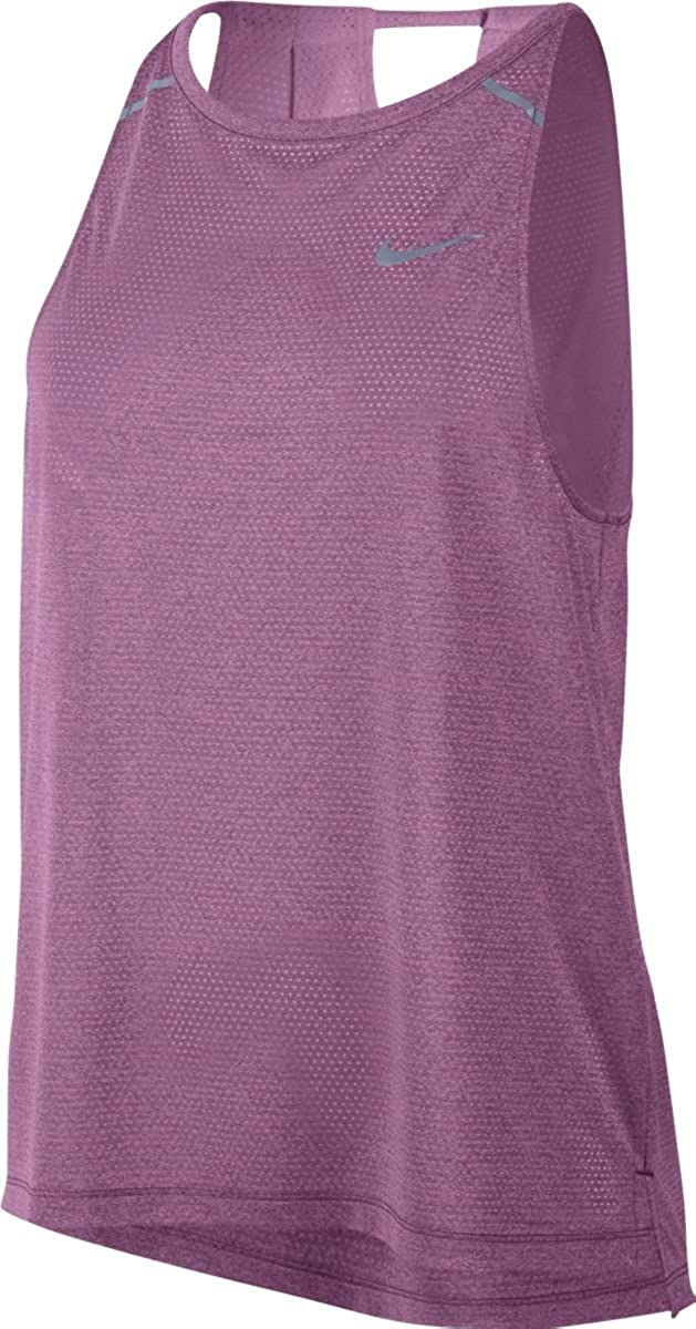 f97cf724 Amazon.com: Nike Womens Breathe Running Fitness Tank Top: Clothing