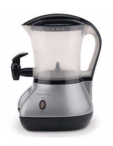 Back to Basics® Cocoa Latte™ Hot Drink Maker - Brushed Chrome