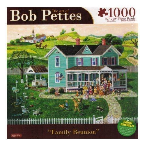 Bob Pettes - Family Reunion - 1000 Pc Puzzle (Karmin Pettes Puzzle Bob)