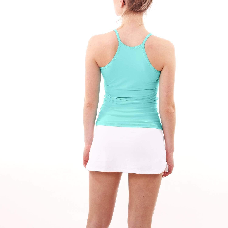 SPORTKIND D/ébardeur en Bretelles Fines pour Tennis//Fitness//Yoga pour Filles et Femmes