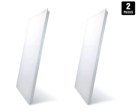 LED Troffer 2x4 FT Hyperikon, 46W (140W Equivalent), 4000K, 5230 ...