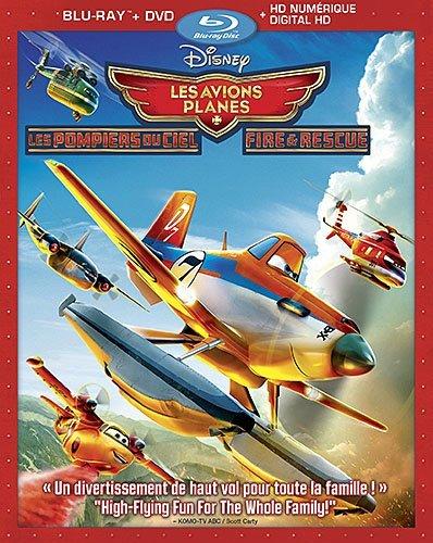 Planes: Fire & Rescue [Blu-ray]