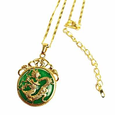 simulated necklace rhodium ancient plated bling gemstone jewelry jade quotations get guides good chinese shopping cheap onyx find luck