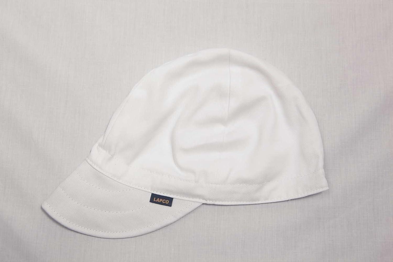 Gorra de seguridad para soldadores confeccionada con 4 paneles ...