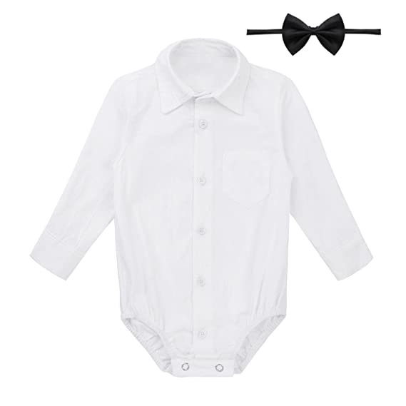 inlzdz Pelele Mameluco de Bebé Niña Lindo Diafraz de Gentleman con ...