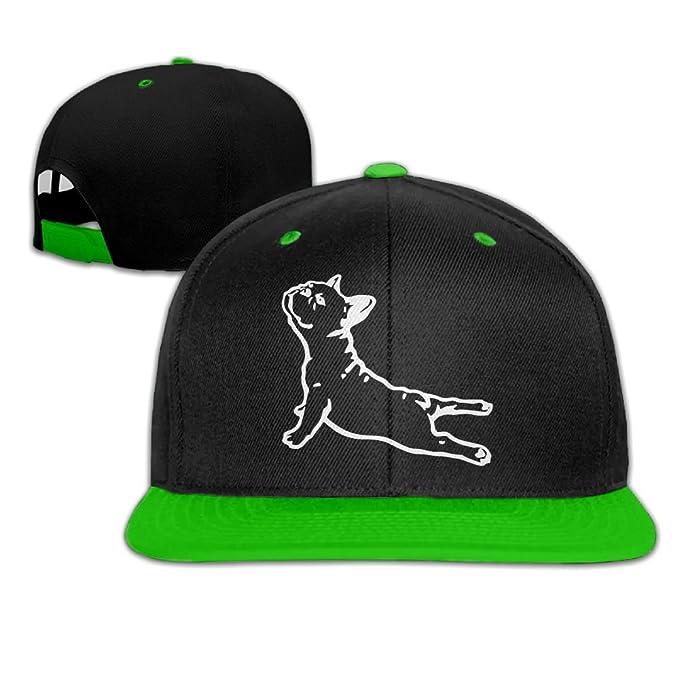 96053e367a4 NMG-02 French Bulldog Yoga Unisex Snapback Caps