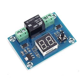 AC110V 220V LED Multifunción Temporizador de ciclo de tiempo de retraso Relé de tiempo interruptor de gatillo