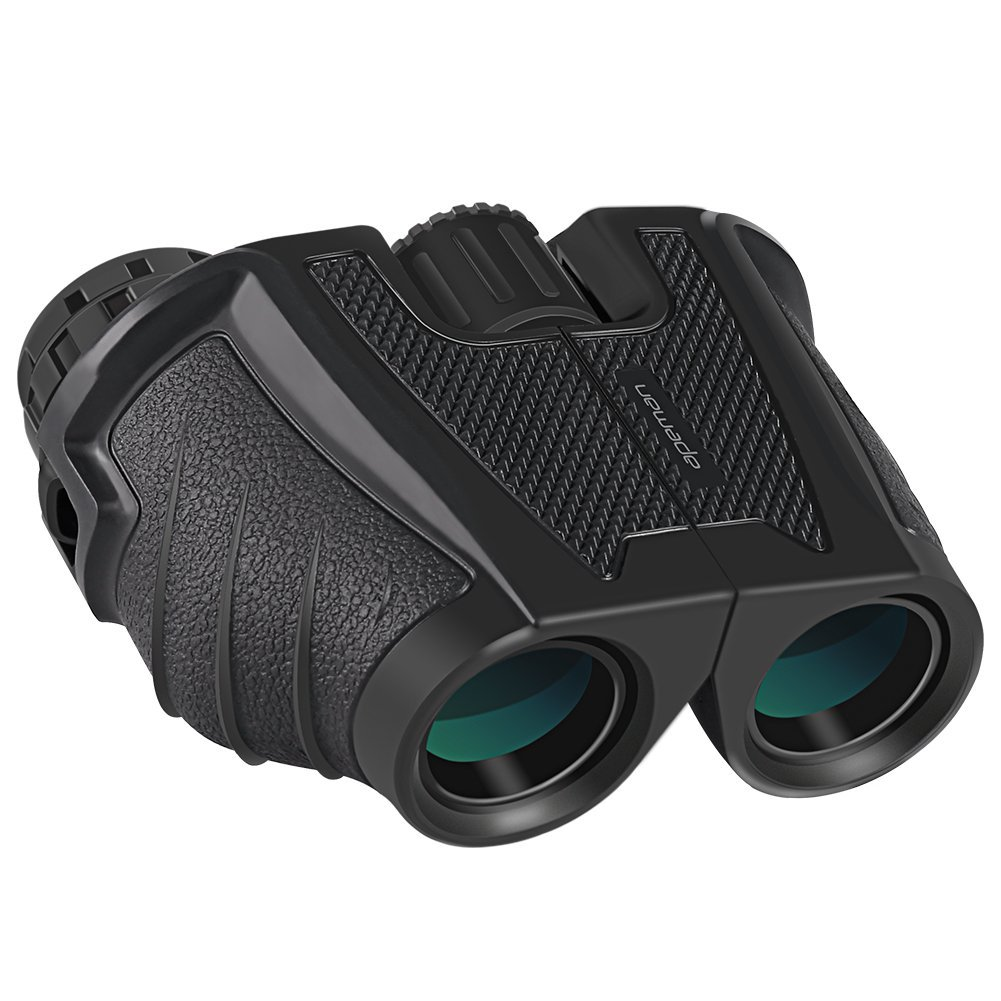 APEMAN 12X25 Compact Binoculars Adults Kids,Folding Binoculars FMC Coated Lens Great Clear Vision Bird Watching, Hunting, Hiking, Concert Sports Games