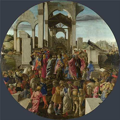 The Perfect Effect Canvas Of Oil Painting 'Sandro Botticelli