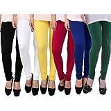 The Taran Fashion Women's Viscose Leggings (srel242733vxxl_Multi Color _Free Size)
