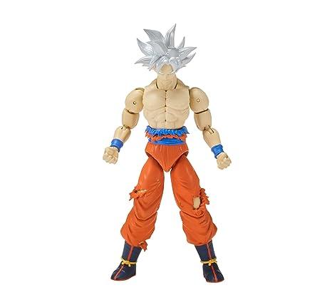 71a0a36bd80f Amazon.com: Dragon Ball Super - Dragon Stars Ultra Instinct Goku (Series  7): Toys & Games