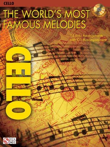 FAMOUS MEL CELLO BK/CD (Play Along (Cherry Lane (Cherry Lane Folk Sheet Music)