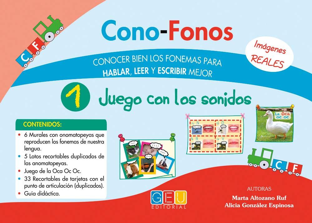 Cono-fonos 1. Juego con los sonidos (Spanish) Loose Leaf – 2013