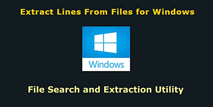 Amazon com: Extract Lines From Files for Windows [Download