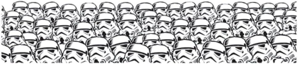 Eureka Star Wars Super Troopers Deco Trim Classroom Decoration, 12pc