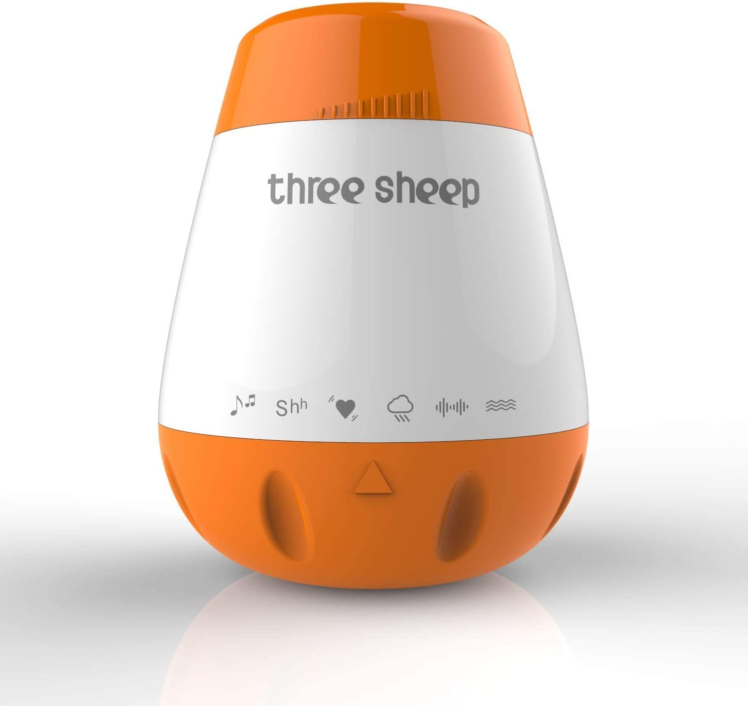 Baby Soother Sound Machine, Three Sheep Soothing White Noise Machine Portable Sleep Therapy to Help The Baby Sleep and Relax.