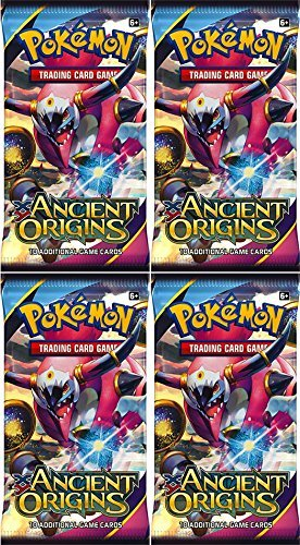 Pokemon Trading Card Game: XY - Ancient Origin Sealed Booster Pack x 4