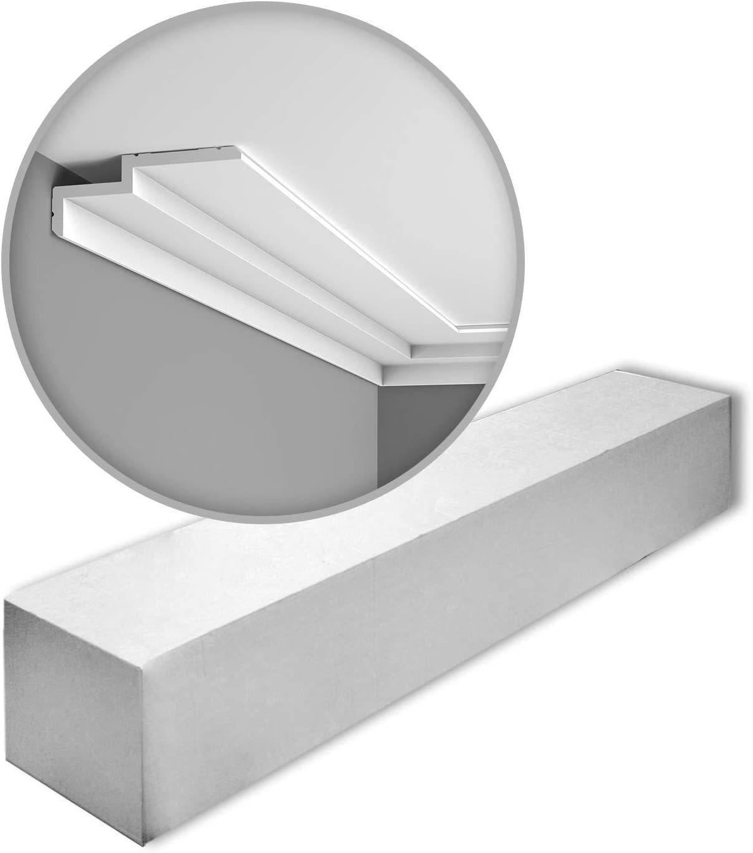 Orac Decor C391 Modern Steps 1 Box 11 Pieces Cornice Moulding 22 m