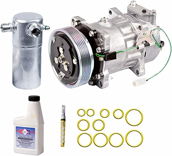 For Cadillac CTS 2009-2015 AC Compressor w//A//C Repair Kit BuyAutoParts 60-81626RK NEW