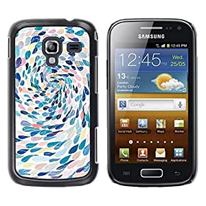 Be Good Phone Accessory // Dura Cáscara cubierta Protectora Caso Carcasa Funda de Protección para Samsung Galaxy Ace 2 I8160 Ace II X S7560M // Swimming Abstract Art Metaphor