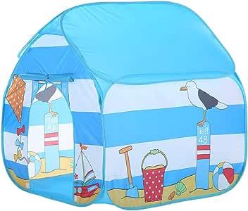 Muium Tienda del Juego Tienda de Campaña para Niños Castillo Juego en casa para Chicos Plegable autoarmable Casa de Juguetes al Aire Libre para niños, niñas, para la Playa : Amazon.es: