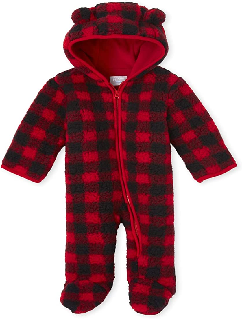 The Childrens Place Baby Boys Bunting Snowsuit