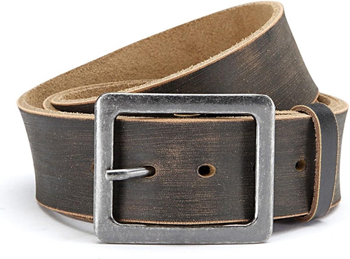 Herren Gürtel Metallgürtelschnalle Breite 3,5 cm Schwarz 105 110 115  125 130 cm
