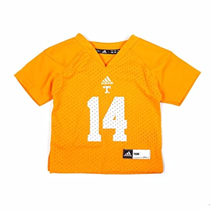 watch d6393 2baff adidas Tennessee Volunteers NCAA Orange Official Home #14 Replica Football  Jersey Infant