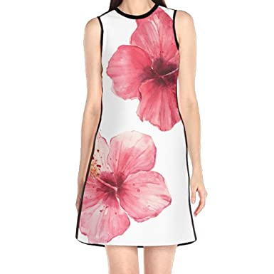 73c5d3c50d1e Hakalala Girls Dress Mini Dress, Flora Flower Print Pink Red Spring Dresses,  Vintage Dress