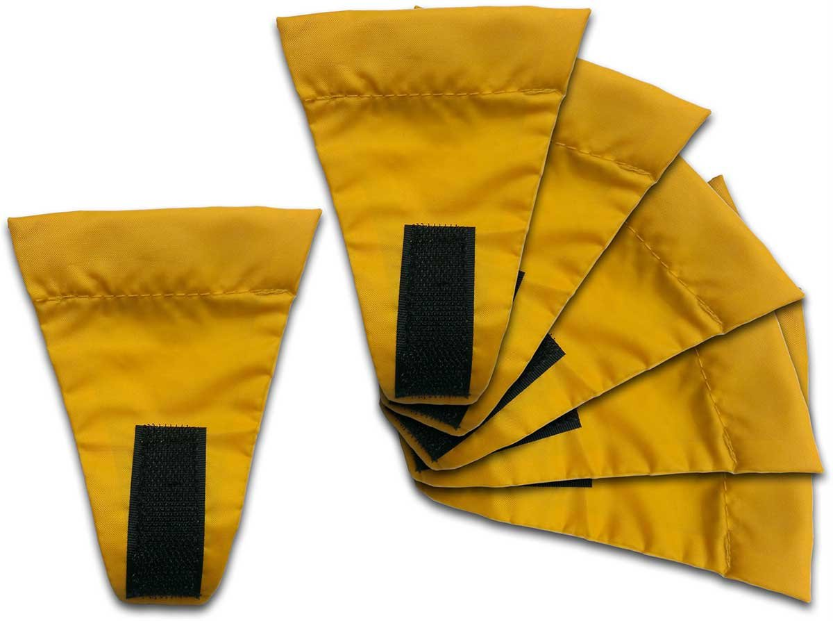 Wechsel Tents Guy Line 6 Flags for Guy Ropes For Camping TentAwning or Tarp A Handy companion