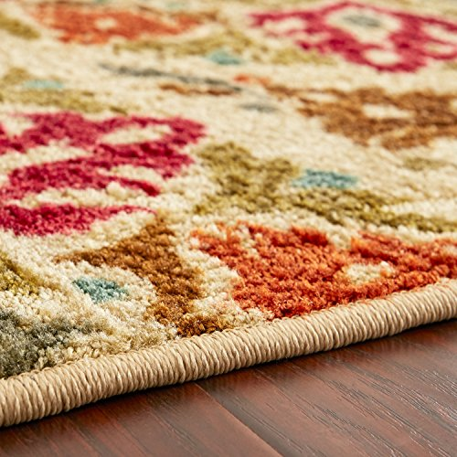 Mohawk Home Strata Jerada Floral Sphere Printed Area Rug, 5'x8', Multicolor by Mohawk Home (Image #7)