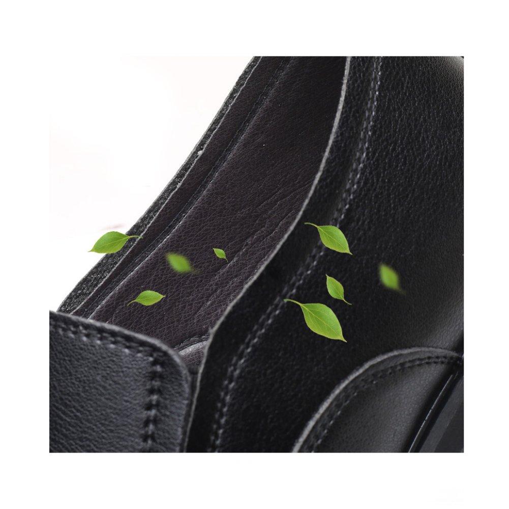 XIAOLONGY Neue Männer Schuhe Leder Marke Sommer Hohlen Schuhe Männer Marke Leder Business Casual Sandalen Atmungsaktive Sätze von Füßen Große Größe schwarzhollow c02714