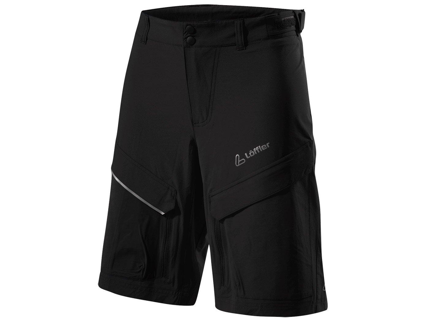 Löffler Herren Bike Shorts 17824 - Radshorts mit Innenhose